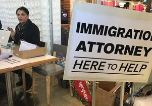 Immigration attorney at LAX