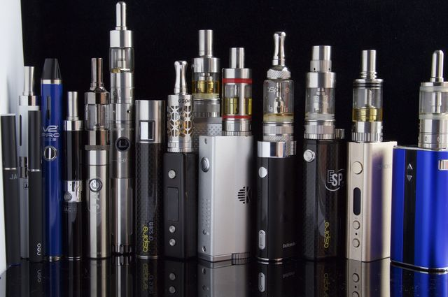 E-cigarettes and vaporizers