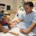 Ella and a patient