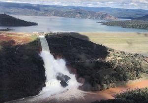 Damaged Oroville Dam