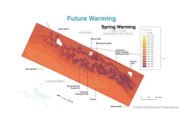 Future warming