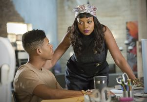 """Empire"" actors Bryshere Y. Gray and Taraji P. Henson"