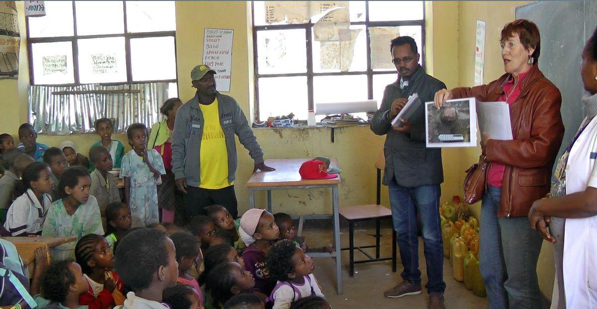 Willeke Wendrich Ethiopia school