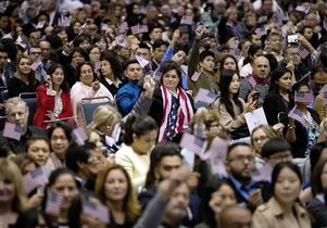 Los Angeles naturalization ceremony February 2017