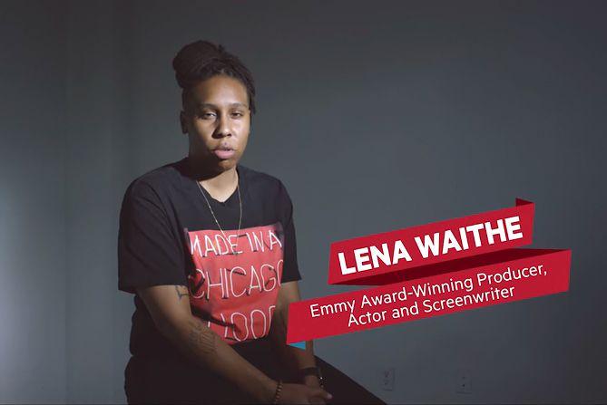 Screenwriter Lena Waithe