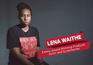 Screenwriter Lena Waithe