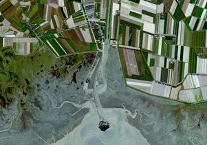 Farms from above