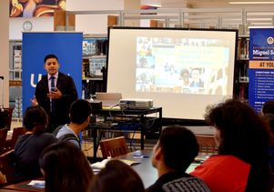 RFK UCLA Community School admissions visit Fall 2017