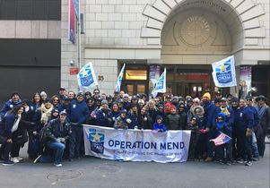 Operation Mend Veterans Day 2017