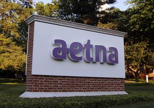 Aetna corporate headquarters sign
