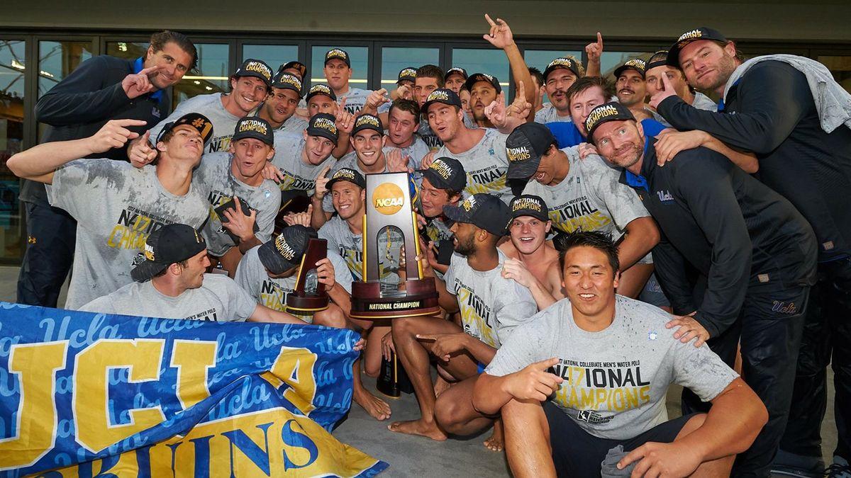 UCLA men's water polo championship