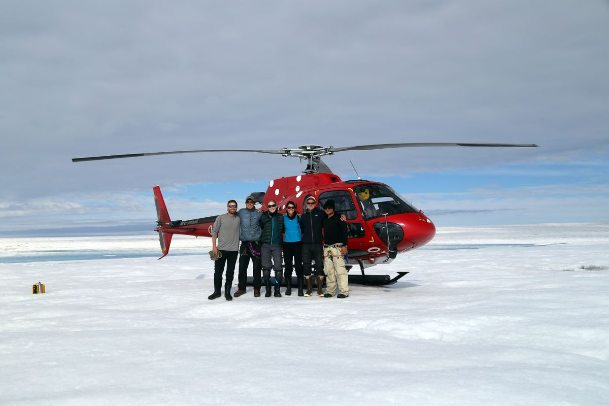 Greenland research team