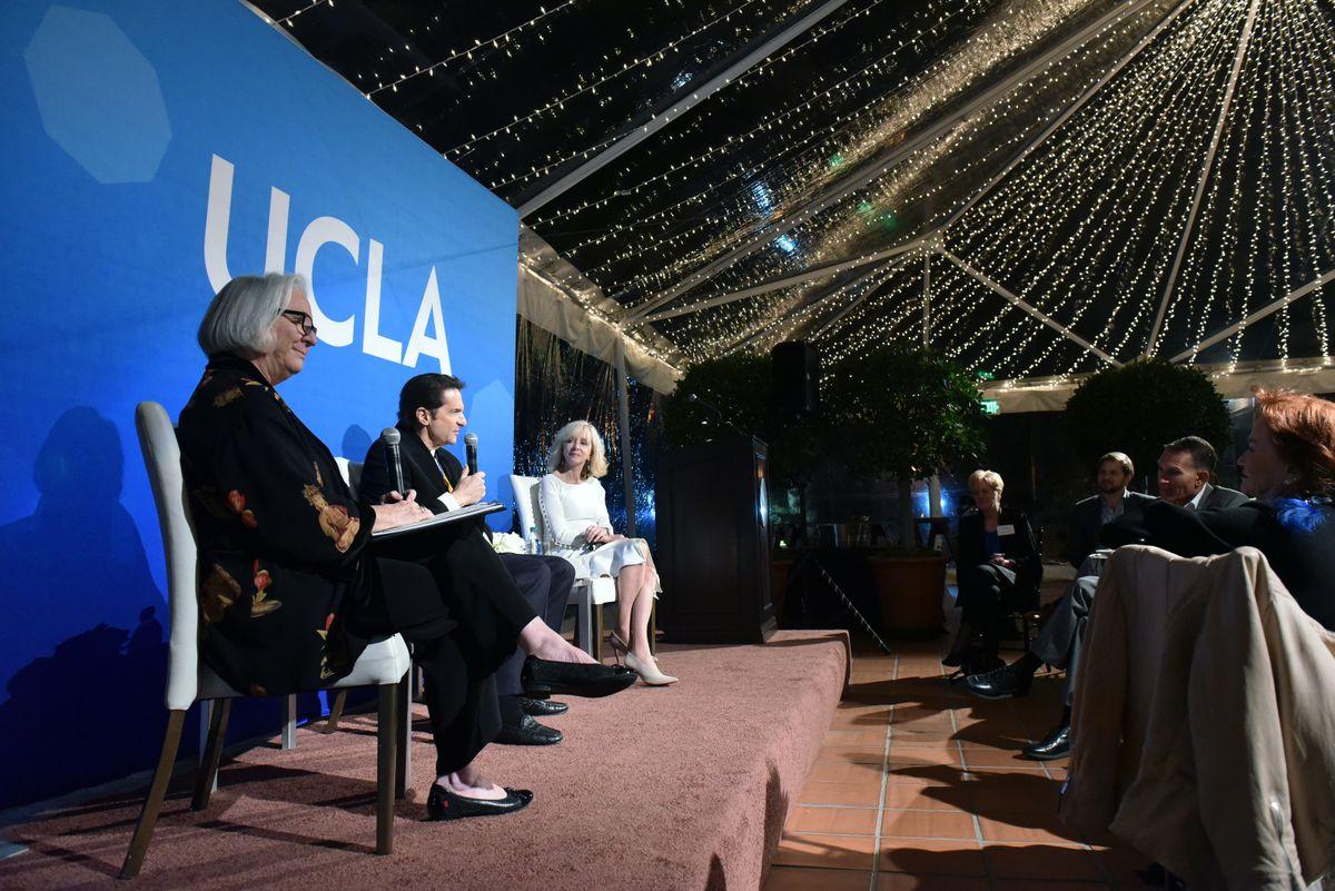 Peter Guber UCLA Medal discussion
