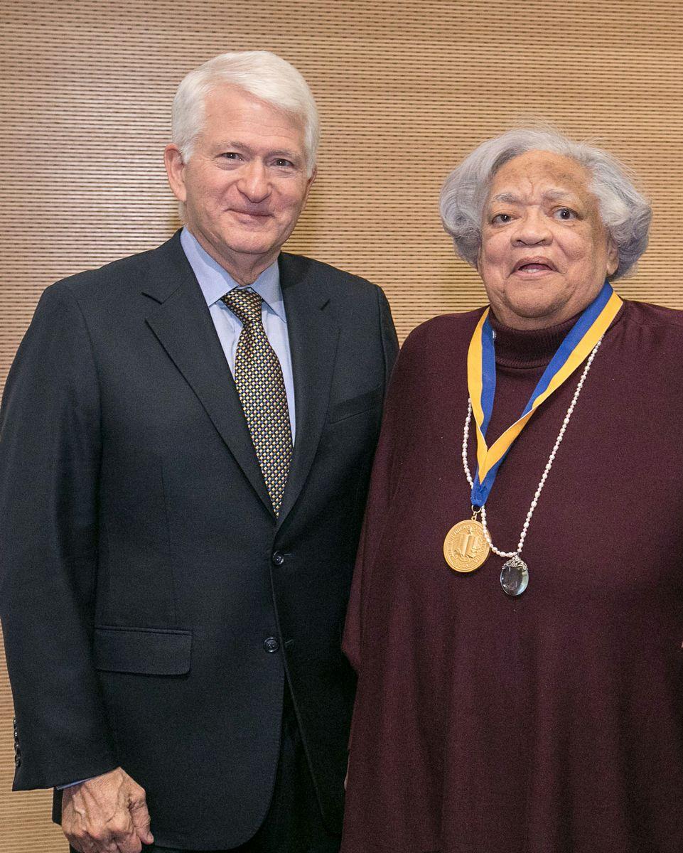 Loretta Jones Chancellor Block