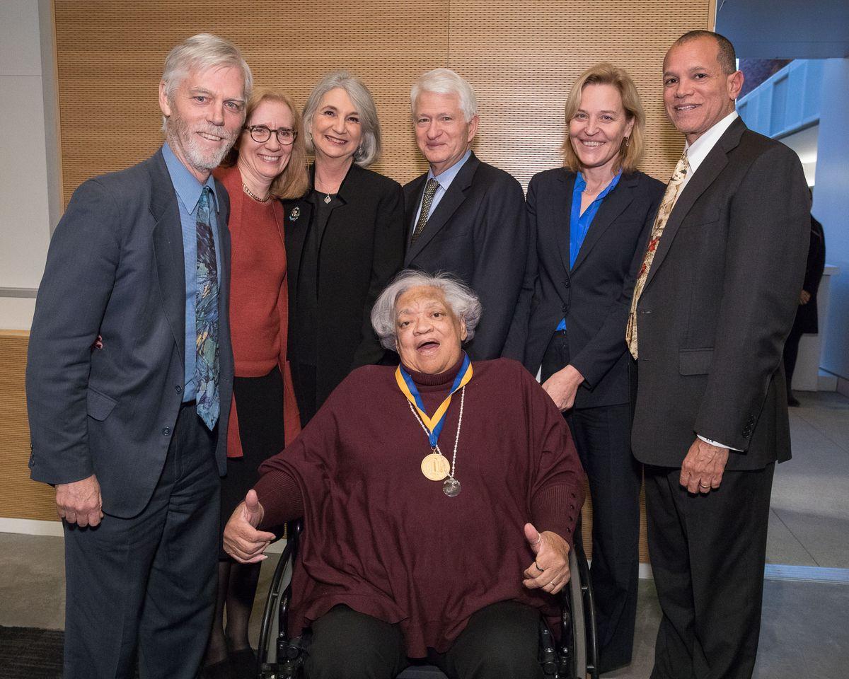 Loretta Jones UCLA Medal