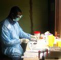 Ebola virus researcher
