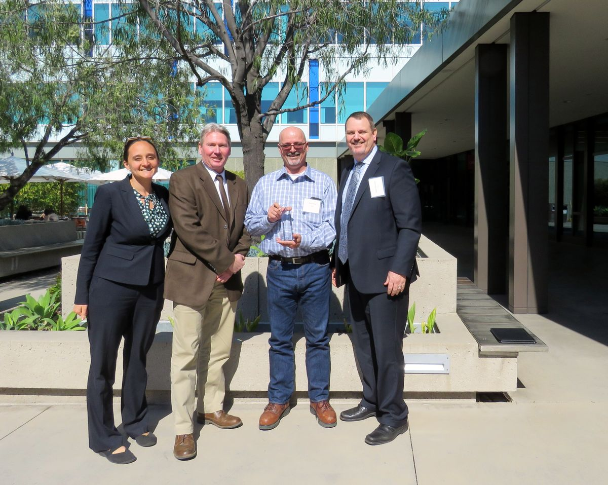 UCLA water efficiency award
