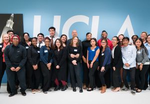 First group of Turner-UCLA interns