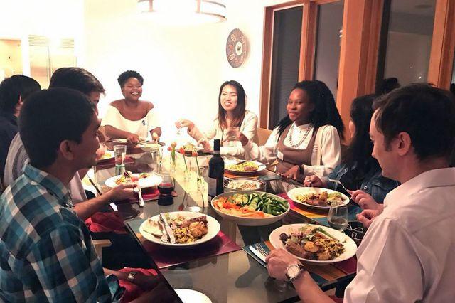 Dinner for 12 Strangers