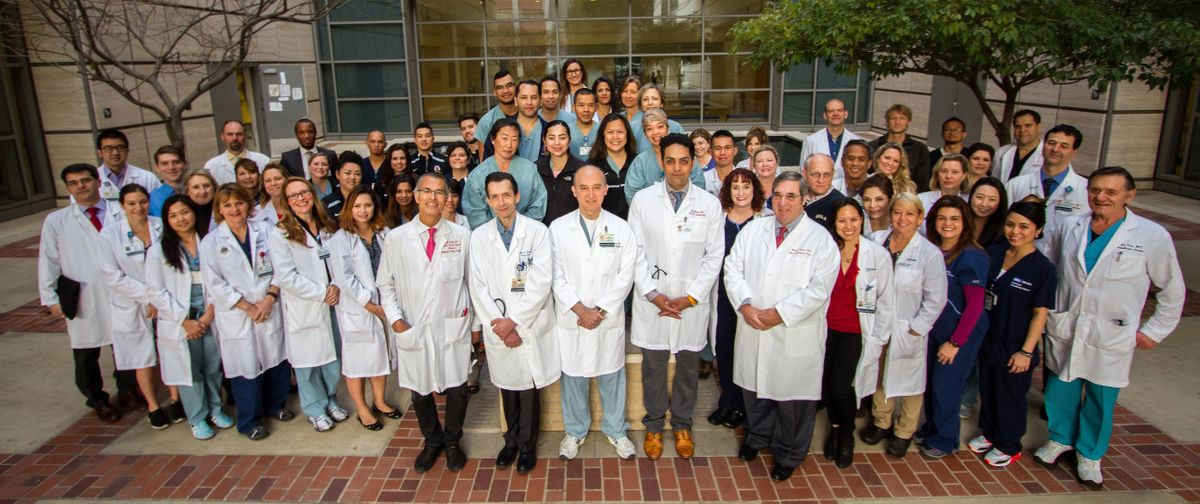 UCLA heart and lung transplants teams.