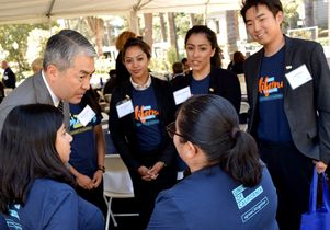 Assemblymember Al Muratsuchi and UCLA advocates