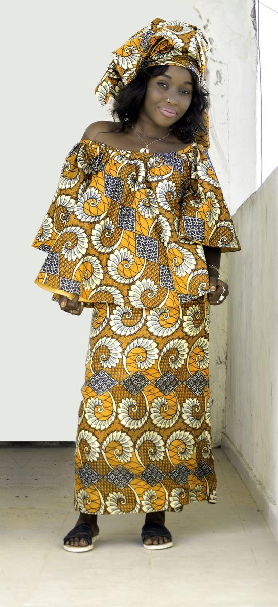 Ken Traoré dress