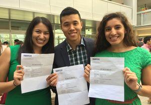 Rebecca Citron, Vinh Lam and Marisa Yanez