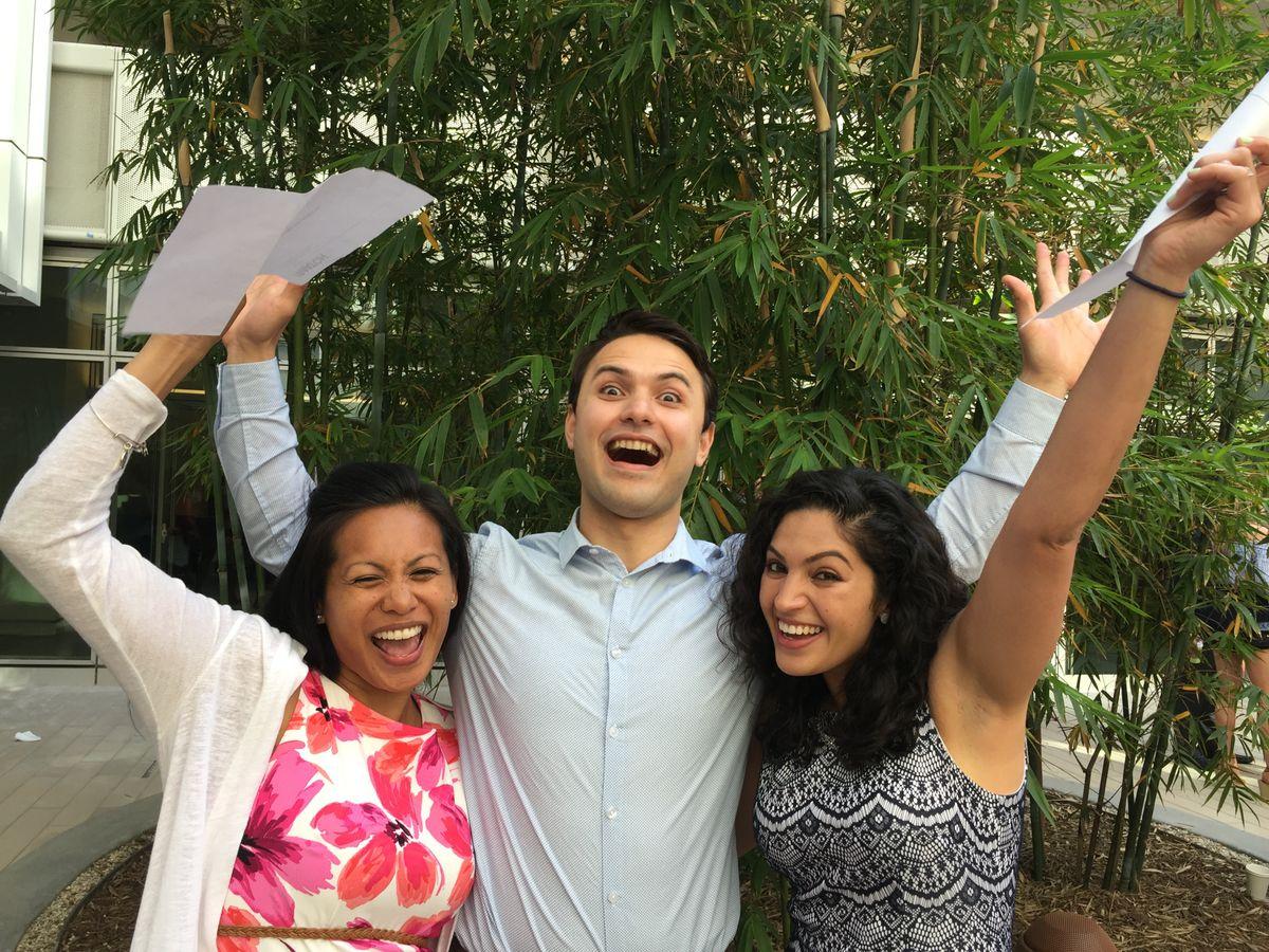 Jasmin-Ann Reyes, Razmik Ghukasyan and Pooja Upadhyaya
