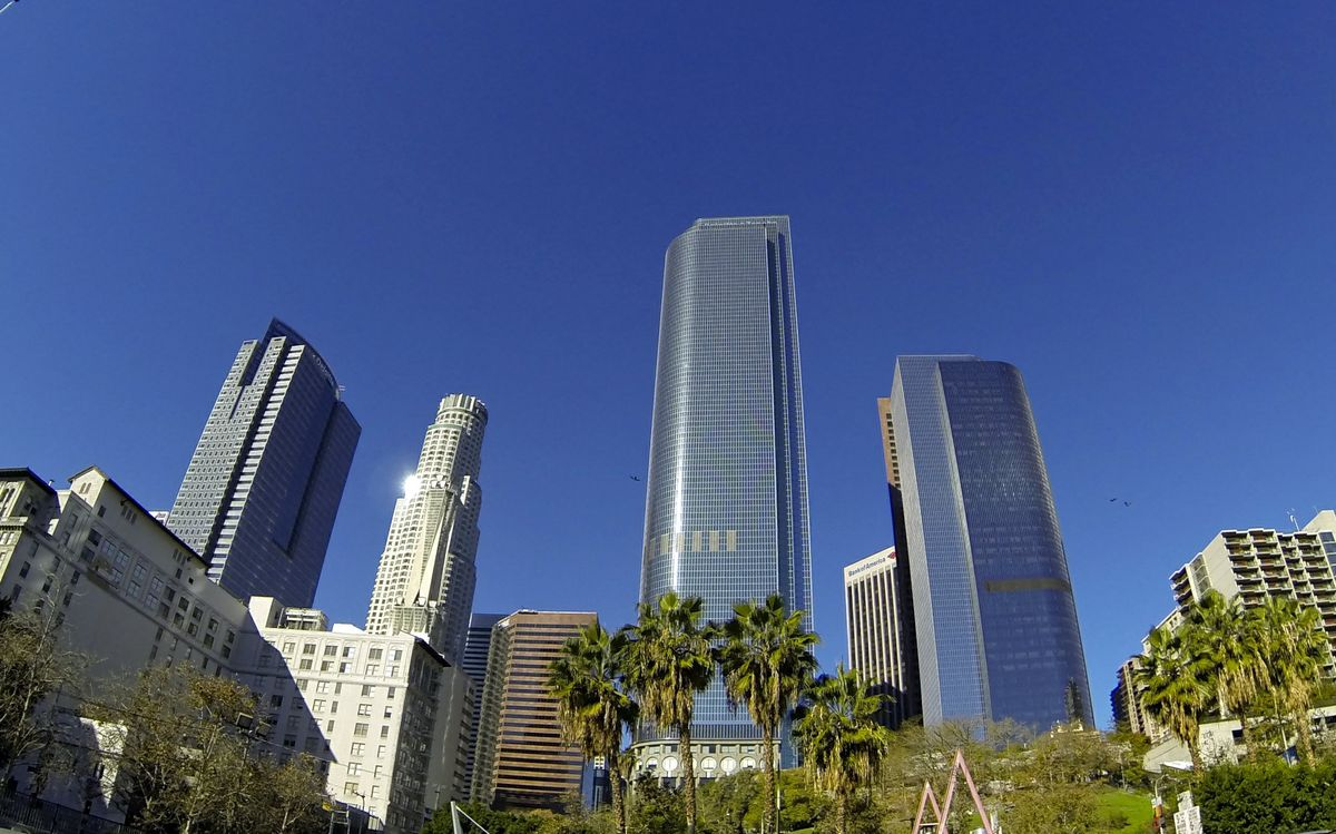 Green buildings in DTLA