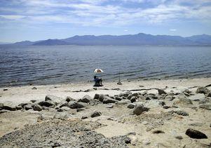 The shrinking Salton Sea