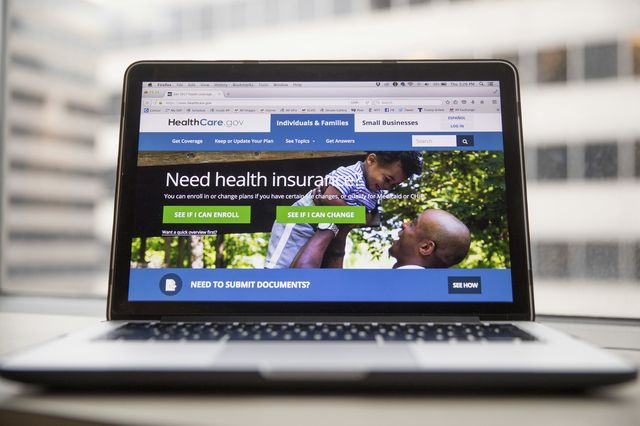 Government health care website