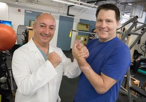 UCLA's Dr. Kodi Azari uses novel approach to prepare man for complex surgery