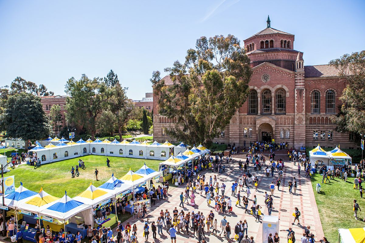 a spirited welcome and invitation for thousands at bruin