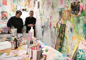 UCLA graduate art studios