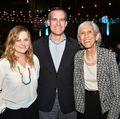 Amy Poehler, Eric Garcetti and Karolynne Gee