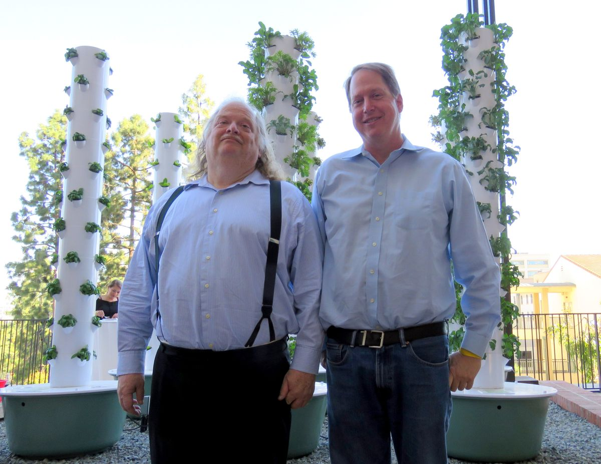 Jonathan Gold and Mark Gold