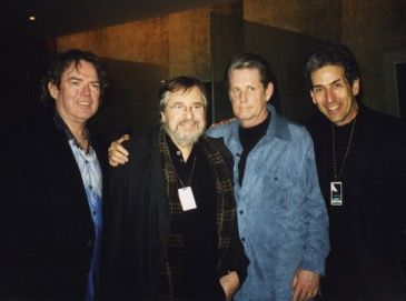 Jimmy Webb, Phil Ramone, Brian Wilson, David Leaf.