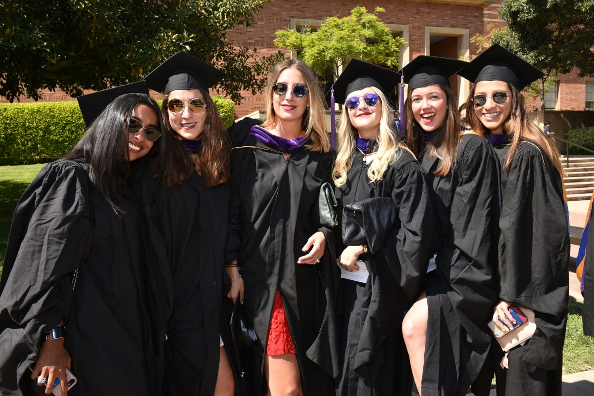 New graduates of UCLA School of Law