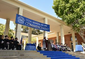 UCLA School of Law commencement