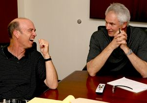 Mitch Kupchak and Steve Derian