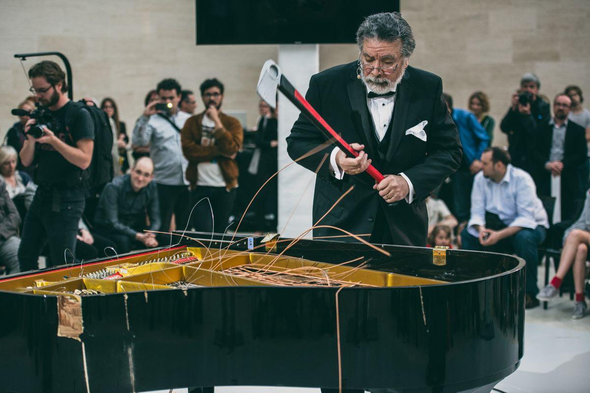 Piano Destruction Concert