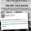 News from and about President Trump