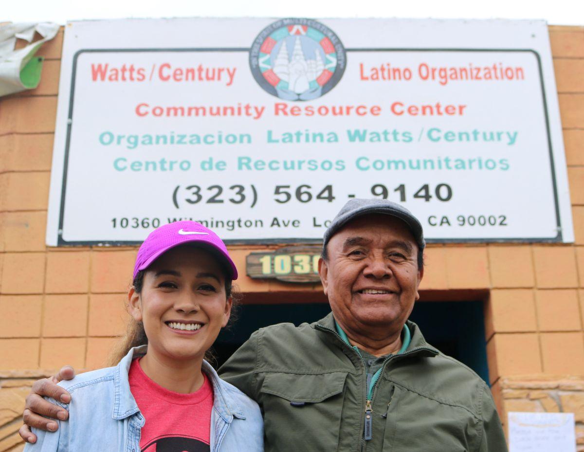 Pahola and Arturo Ybarra