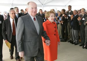 Jerry Perenchio and Nancy Reagan 2007