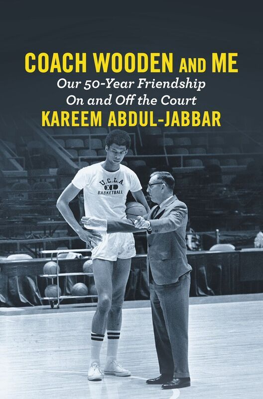"Book cover of ""Coach Wooden and Me"""