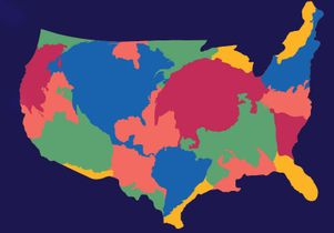 U.S. map graphic