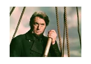"Gregory Peck in ""Moby Dick"""