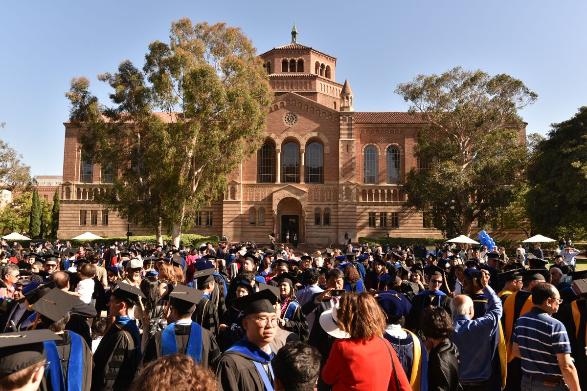 New Ph.D.s celebrate at UCLA