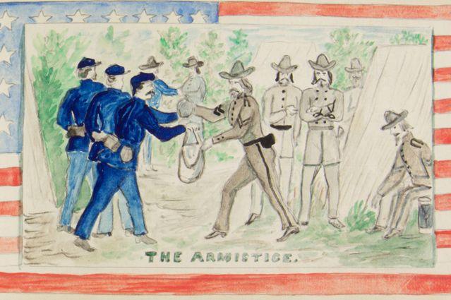 Ransom sketch - armistice