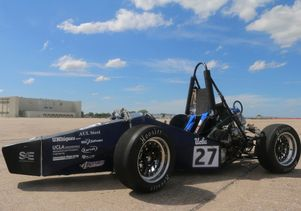 Bruin Racing vehicle